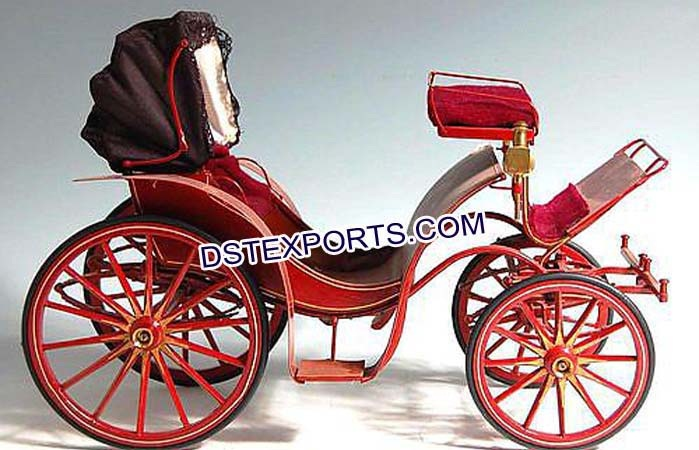 Small Mini Horse Drawn Carriages Manufacturer