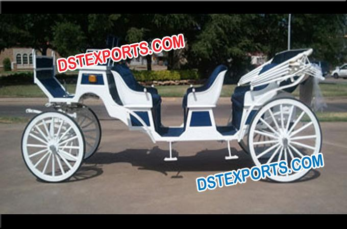 Limousine Long Horse Drawn Carriages Suppliers