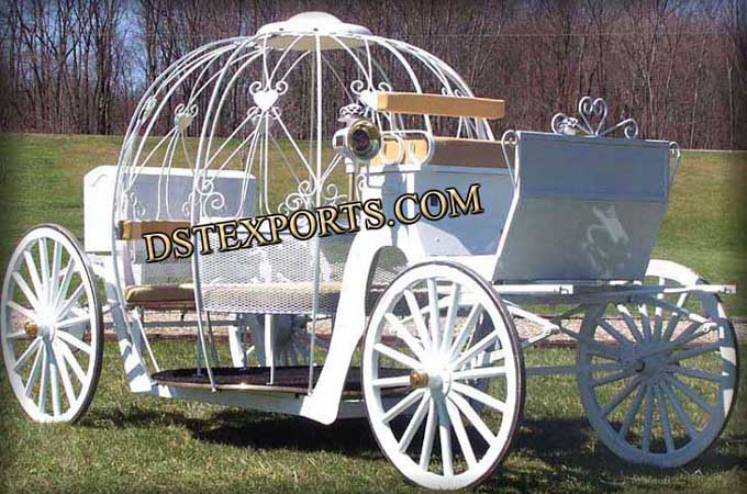English Style Cinderella Horse Carriage