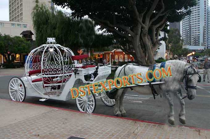 Englsih Wedding Cinderella Carriage