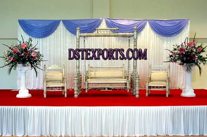 Wedding New Sankheda Swing Stage Set