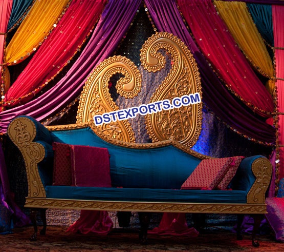 Indian Wedding Paisley Carry Decoration