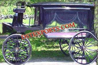 Black Funerals Horse Carriages
