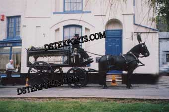 New Black Funeral Horse Carriages