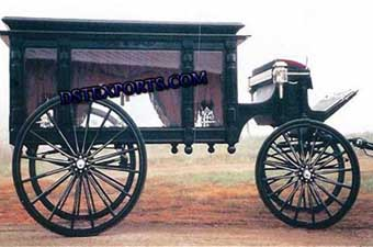 Horse Drawn Funeral Baghi