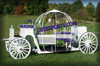 Beautiful Cinderella horse carriages