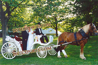 Victoria Horse Wedding Carriages
