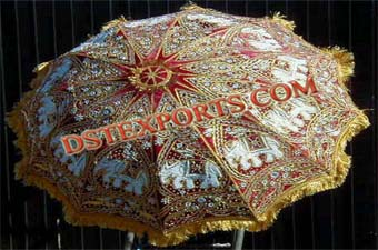 Royal Wedding decorated Umbrellas
