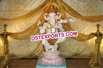 Decorated Lord Ganesha Statues