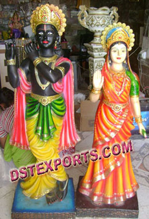 Radha Krishan Welcome Statue For Sale