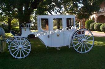 The Glass Wedding Covered Carriage