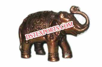 Decorated Metal Elephant Statue For Wedding