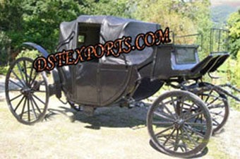 Black Beauty Horse Drawn Carriage