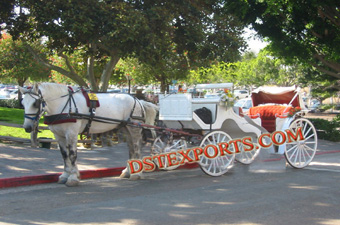 New Victoria Horse Drawn Carriage