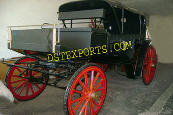 New Black Victoria Carriage For Sale