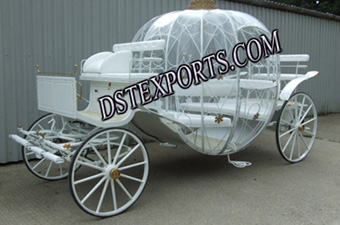 New Pumpkin Cinderela Carriage For Sale