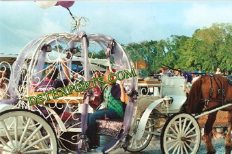 Festival Cinderella Horse Carriage For Sale
