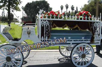 Funeral Horse Drawn Carriage For Sale