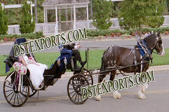 Wedding New Black Victoria Carriages