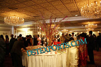 Wedding Center Table Crystal Tree For Decoration