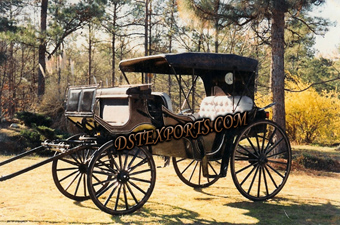 Beautiful Black Horse Carriages Manufacturers