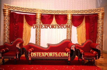Asian Wedding Half Moon Stage For Sale