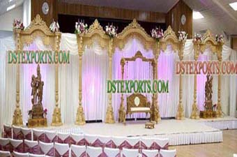 Traditional Hindu Wedding Stage Set For Sale