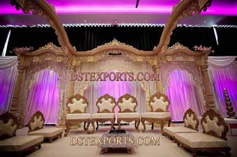 Beautiful Wedding Carved Stage For Sale
