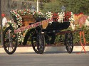 BEAUTIFUL BLACK  VICTORIA CARRIAGE