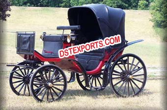 Black Victoria Carriage For Builder