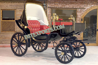 ROYAL SMALL BLACK VICTORIA CARRIAGE