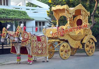 ROYAL WEDDING GOLD HORSE BAGHI