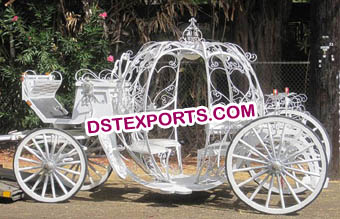 New Cinderella Horse Drawn Carriage
