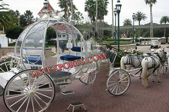 Latest Cinderella Horse Drawn Carriage