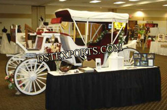 Victoria Carriage For Marriage Stage Decoration
