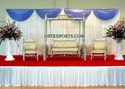 WEDDING SANKHEDA JHULA WITH MATCHING CHAIRS
