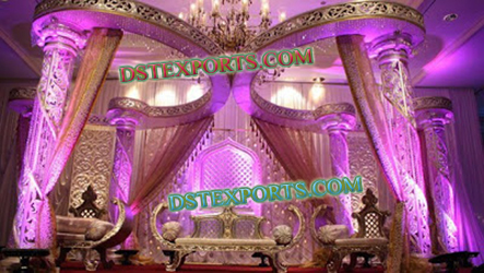 ASIAN WEDDING BUTTERFLY STAGE SET