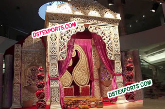 Asian Wedding Royal Decorated Stages