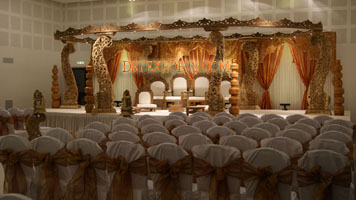INDIAN WEDDING BEAUTIFUL WOODEN MANDAP