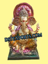DECORATED GANPATI STATUE