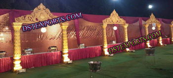 ROYAL INDIAN WEDDING FOOD STALLS