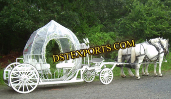CINDERALLA PUMPKIN COVERED CARRIAGE