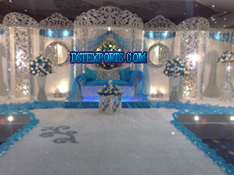 ASIAN WEDDING CRYSTAL STAGES