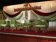WEDDING NEW SILVER CARVED FURNITURES