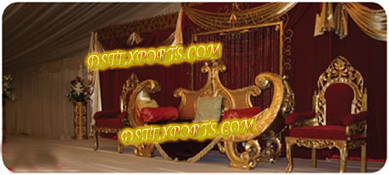 ASIAN WEDDING ROYAL FURNITURE SET
