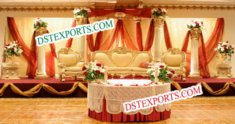 Asian Wedding Elegant Furniture Set