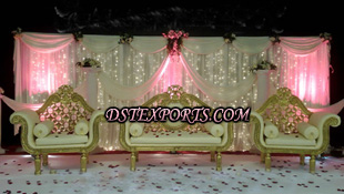 ASIAN WEDDING GOLD ELEGENT FURNITURE