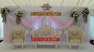 WEDDING PEARL CARVED FURNITURES