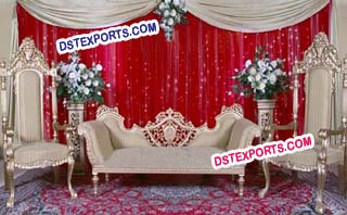 Muslim Wedding Stylish Furniture Set