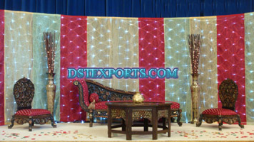 MUSLIM WEDDING ANTIQUE FURNITURES